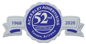 Ackerley Advertising 52 years in Business