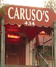 Caruso's Italian Restaurant Store Front